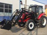 trattore agricolo agricolo a ruote 150HP di 80HP 100HP 120HP con il rimorchio della baracca del A/C del Ce