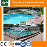 Приложения плавательного бассеина поликарбоната коммерчески алюминиевые