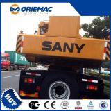 Guindaste móvel Stc120s do caminhão da especificação do guindaste do caminhão de Sany 12ton