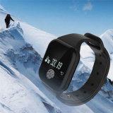 Bluetooth X5の知恵の健康のリスト・ストラップのスマートなブレスレットは歩数計の腕時計を遊ばす