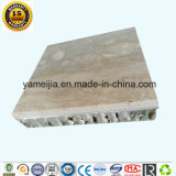 Le nid d'abeilles en pierre lambrisse les revêtements externes de pierre de revêtement de Foshan