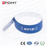 Wristband respetuoso del medio ambiente de MIFARE (r) 1K RFID para el concierto