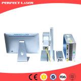 гравировальный станок лазера волокна размера 10W 20W миниый портативный малый