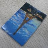 De Sticker van de Magneet van de Koelkast van het tin, met het Ontwerp van de Douane en Afdruk