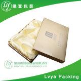 Rectángulo de papel de empaquetado del regalo rígido a todo color de la cartulina