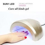 Vernis à Ongles automatique Sécheur électrique Sun1 48W à LED Lampe d'ongles