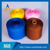 Polyester 100% mélangé de filé tricotant à la main l'amorçage de couture