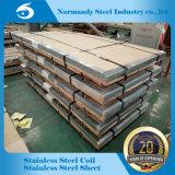 Feuille d'acier inoxydable de fini d'AISI 201 Ba/8K pour la construction de décoration de vaisselle de cuisine et la porte d'ascenseur