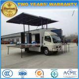 실행 트럭 20 M2 LED 단계 차량 5 톤 움직일 수 있는 단계