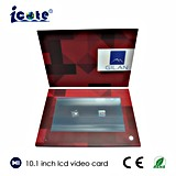 Qualität für 10.1 Zoll LCD-Geschäfts-Geschenk-videobroschüre-grüßende Videokarte mit Touch Screen
