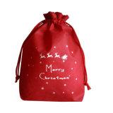 Diseñado Personal cordón no tejido Bolsa para regalo de Navidad (YH-NWB101).