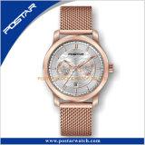 Marcação & RoHS unissexo Bronze Cronógrafo relógio de pulso