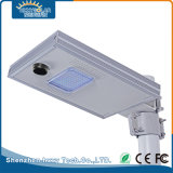 Resistente al agua IP65 8W LED solar integrada en el exterior de la luz de la calle en una sola