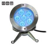 indicatori luminosi subacquei del raggruppamento della fontana di 6X3w LED