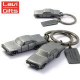 卸し売りカスタム金属のタクシーの形Keychain