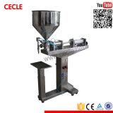 Semi Automatische het Vullen van de Tafelolie Machines, Jam, het Vullen van de Honing Machines