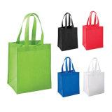 재사용할 수 있는 보통 색깔 비 길쌈된 운반물 식료품류 쇼핑 부대 (YH-NWB084)