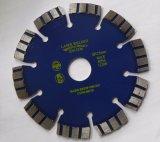 blad van de Zaag van de Laser van 125mm het Turbo voor Algemeen Doel