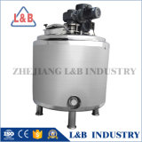 Tank die van de Reactie van het roestvrij staal de Chemische Tank mengen met Mengapparaat