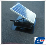 25W de milieuvriendelijke Ventilator van de Ventilatie van de Serre Zonne Zolder met In werking gestelde Batterij