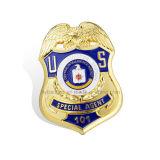 Insigne militaire Insigne Insigne de la sécurité de la Cop de métal (GZHY-d'un insigne-018)