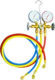 Vielfältiges Anzeigeinstrument-Set Digital-R134/R12