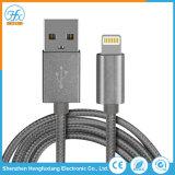 cavi su ordinazione del USB di dati 5V/2.1A del lampo elettrico del caricatore