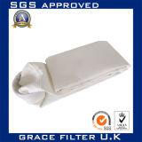 750 GSM de Naald voelde Stof de Op hoge temperatuur van de Zak van de Filter van de Lucht PTFE