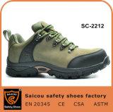 Randonnée et chaussures de sécurité de l'ambiance décontractée et les hommes Les chaussures en cuir résistant des bottes de sécurité SC-2212
