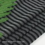 75 10 15 en nylon polyester Spandex Teinture de fils Stripe Shirt de sport tissu Jacquard pour