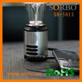 La manivelle générer torche dynamo solaire Lantern Radio Dynamo Lampe torche à LED