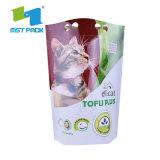 Печать логотипа разработке нестандартного плоский низ биоразлагаемых мире биоразлагаемую бутылку для бумаги Zipper Bag