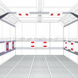 Утвержденном Ce Infitech экономичные автомобильная краска для выпекания стенд с инфракрасного обогрева (ИТ-F501)