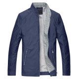 Qualidade superior masculina clássico Casual Jaqueta Windbreaker Colar de suporte de camada exterior