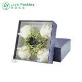 Los logotipos personalizados de papel de lujo ropa ropa ropa ropa Camiseta Flor regalo Caja de papel de embalaje