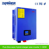 6000W Inversor Cargador onda pura con 48V 120V/240V inversor de fase de división