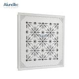 Новая конструкция перфорирование металлические потолочные плитки с цветочным рисунком.