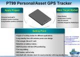 Anti-Tamper беспроводной системы сигнализации GPS отслеживания личных активов PT99-Ez