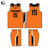 Sportswear Custom Sublimation Männer Basketball Trikot Neueste Basketball Uniformen Design