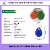 열쇠 고리 (꼬리표 10)를 가진 125kHz Em4100 Tk4100 플라스틱 아BS RFID Keyfob
