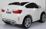BMW X6m gaf Rit op de Auto van het Speelgoed met 2.4G de Auto van de Afstandsbediening Elektrisch met het Facultatieve Schilderen van de Nevel vergunning