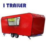 オーストラリアの標準のための移動可能な食事のHumburgerのホットドッグのカート