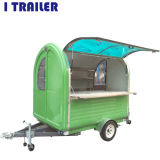 Hot Dog panier alimentaire /Street Mobile Tricycle Café Shop