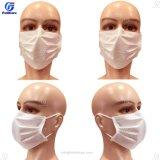 Maschera di protezione chirurgica medica bianca del dottore Hospital di alta qualità a gettare ISO13585 Bfe99 del Nonwoven 3ply con Earloops