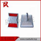 100*100*20mm 알루미늄 도로 장식 못 두 배 측 묘안석 반사체