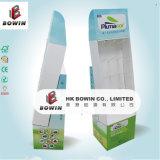 Супермаркет бумаги конструкции низкой цены высокого качества профессиональный грузя выдвиженческую бумажную индикацию бумаги полки