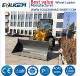 Edelstein Zl12f 1.2 Tonnen-Rad-Ladevorrichtung mit schneller Anhängevorrichtung