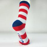 Классицистические цветастые носки хлопка женщин платья нашивки