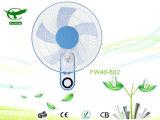 Ventilateur de oscillation du Quiet 16inch de support de luxe simple de mur