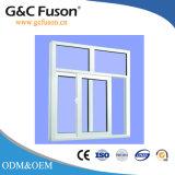 Finestra di scivolamento di alluminio di vetro d'isolamento temperata due strati